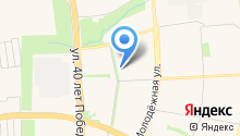 Янтарная капля на карте