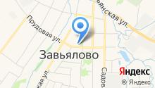 Управление Пенсионного фонда РФ в Завьяловском районе Удмуртской Республики на карте