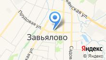 Центр занятости населения Завьяловского района на карте