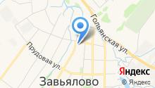 Свято-Никольский храм с. Завьялово на карте