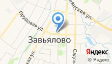 Пенсионный фонд РФ УПФР в Завьяловском районе Удмуртской Республики на карте
