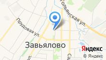 Завьяловский центр услуг населению и юридическим лицам на карте