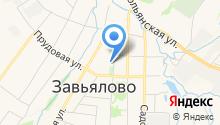 Ижпринт-сервис на карте