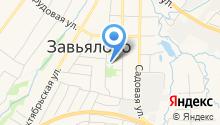 Территориальная избирательная комиссия Завьяловского района на карте