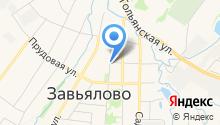 Отдел ГИБДД Отдела МВД России по Завьяловскому району на карте