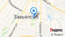 Администрация муниципального образования Завьяловское на карте
