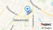 Завьяловский детский сад №1 на карте