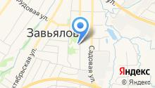 Мировые судьи Завьяловского района на карте