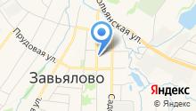 Завьяловский геоинформационный центр, МУП на карте