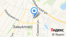Завьяловский геоинформационный центр на карте