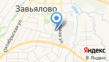 Бюро технической инвентаризации и кадастровых услуг на карте