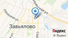 Удмуртская гидрогеологическая экспедиция на карте
