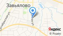 Золотая Табакерка на карте
