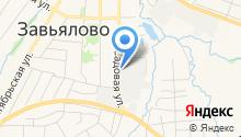 Ижэлектрод, ЗАО на карте
