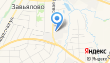 Завьяловоагропромснаб, ЗАО на карте