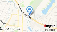 Строительная база Завьяловское на карте