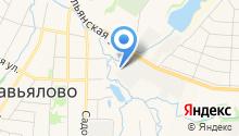 Завьяловское лесничество, ГКУ на карте