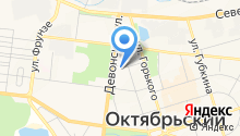 Городская больница №1, ГБУ на карте