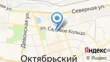 Магазин постельного белья на карте