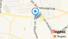 Центр национальных культур на карте