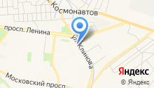 Анисия на карте