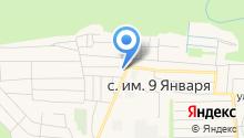 Администрация Красноуральского сельского совета с. Девятого Января на карте