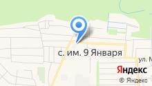 Магазин отделочных и строительных материалов на карте