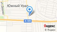 Администрация сельского совета с. Южный Урал на карте