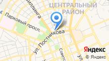 Центральное туристское агентство на карте