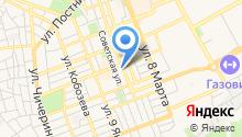 Kazanova на карте