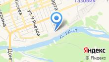 Музей истории Оренбурга на карте