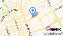 Мировые судьи Ленинского района на карте