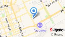 Hilton Garden Inn Orenburg на карте