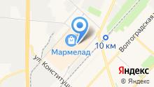 MWT на карте