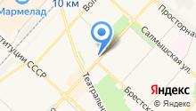 Active на карте