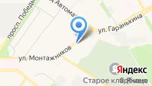 e-mark на карте