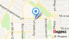 9 отряд ФПС по Оренбургской области, ФГКУ на карте