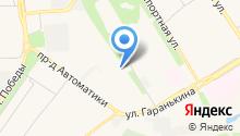 DEFA на карте