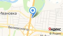 АЗС на Свечной на карте
