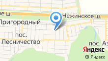 Сеть салонов красоты Галины Нучевой на карте