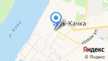 Усть-Качкинская аптека на карте