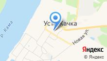 Усть-Качкинская средняя общеобразовательная школа на карте