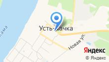 Усть-Качкинская сельская библиотека им. В.М. Шулепова на карте