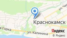 Управление гражданской защиты, экологии и природопользования Краснокамского муниципального района на карте