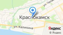 Администрация Краснокамского городского поселения на карте