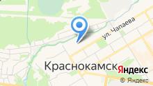 Краснокамская районная общественная организация ветеранов (пенсионеров) войны, труда, Вооруженных Сил и правоохранительных органов на карте