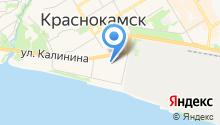 Отделение ФСБ г. Краснокамска на карте
