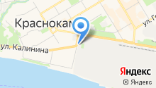 Краснокамская бумажная фабрика на карте