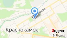 Центр детского творчества г. Краснокамска на карте