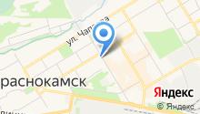 Территориальное управление Министерства социального развития Пермского края по Краснокамскому и Нытвенскому муниципальным районам на карте